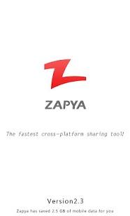 ارسال فایل ها از طریق وایرلس با Zapya 2.3