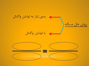 روش حل مسائل شیمی کنکور سراسری
