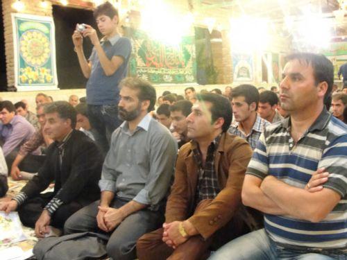 جشن بزرگ نیمه شعبان در گل آباد