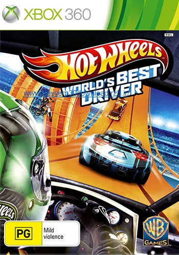 دانلود بازی Hot Wheels World's Best Driver برای XBOX360