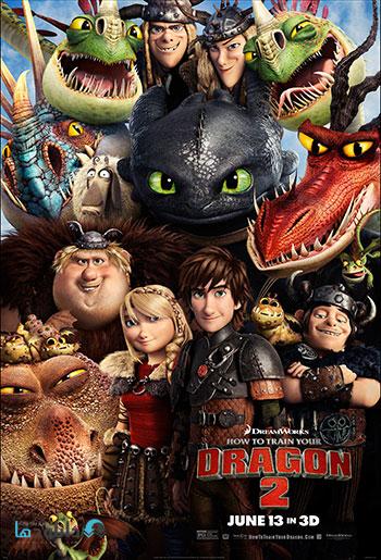 دانلود انیمیشن مربی اژدها ۲ – How to Train Your Dragon 2