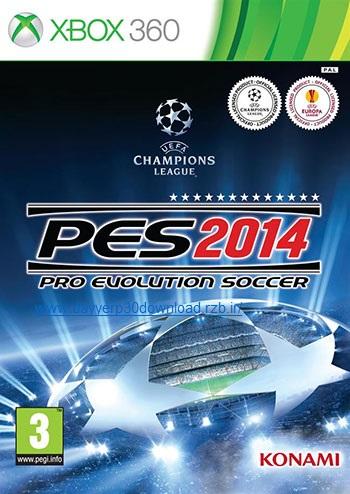 دانلود بازی Pro Evolution Soccer 2014 برای XBOX360