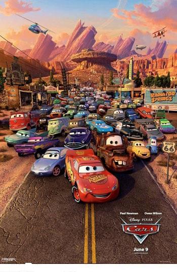 دانلود دوبله فارسی انیمیشن ماشین ها ۱ – Cars 2006