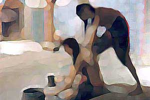 داستان مردی که در حمام زنانه کار می کرد