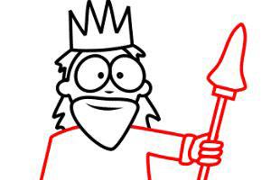 داستان پادشاهی با یک چشم و یک پا