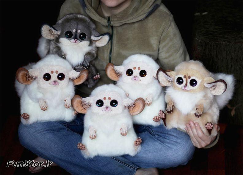 عروسک های عجیب , عروسک های فانتزی واقع گرایانه