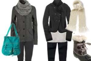 اصول پوشش در زمستان, نحوه لباس پوشیدن در زمستان