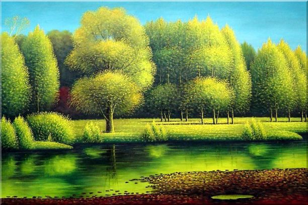 نقاشی های فوق العاده جذاب و دیدنی از طبیعت هزار رنگ