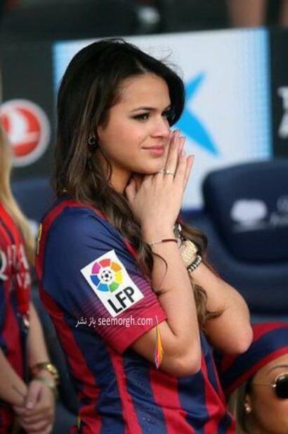 عکس های زیبای همسر نیمار بازیکن بارسلونا