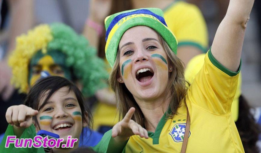 تماشاگران جام جهانی برزیل