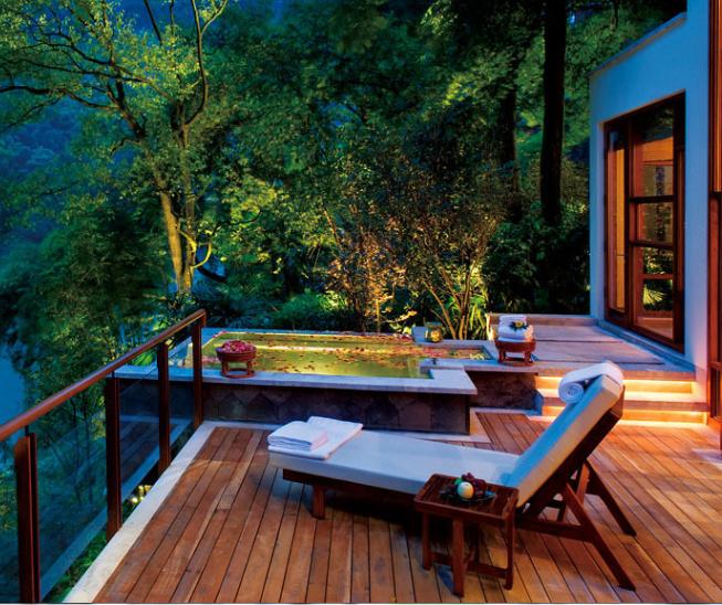 عکس های جذاب از یک هتل رمانتیک در چین