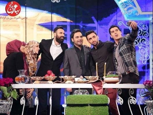 سلفی شهرام محمودی به روایت دوربین امیر حسین بزرگزادگان