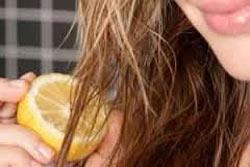 چگونه با آب لیمو موهای خود را هایلایت کنیم؟