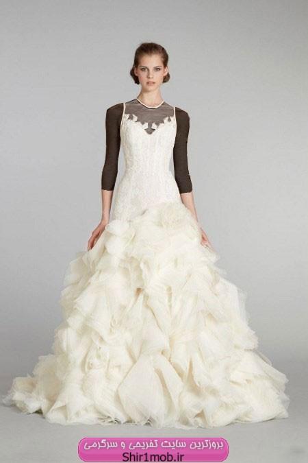 مدل لباس عروس شیک و جدید ۲۰۱۳