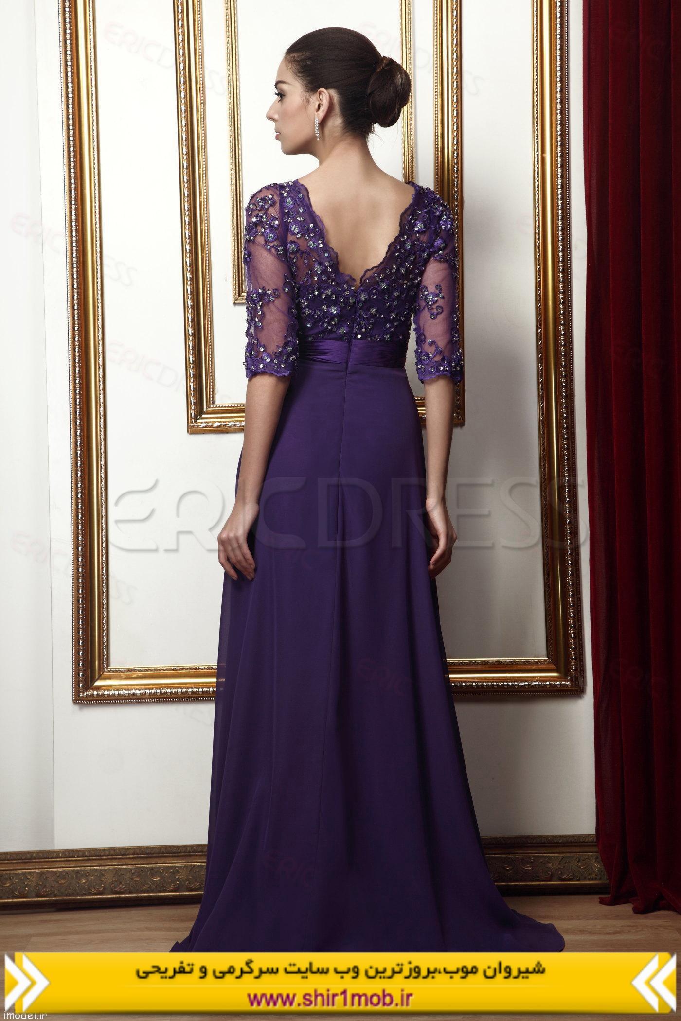 مدل لباس توری شکل طرح امپراتوری سال ۲۰۱۴