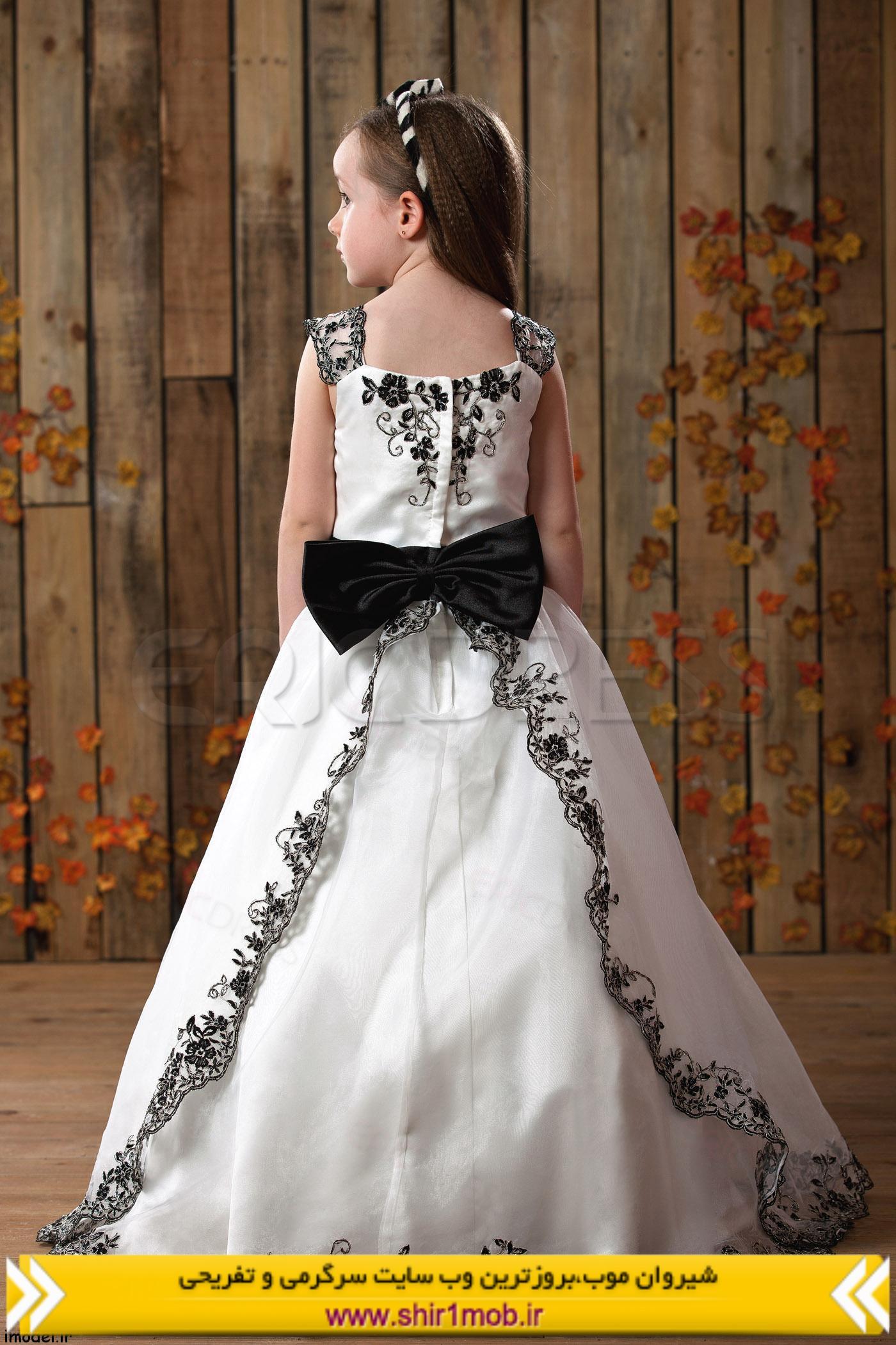 لباس مجلسی دختر بچه طرح ۲۰۱۴