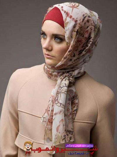 مدل های جدید و زیبا شال و روسری