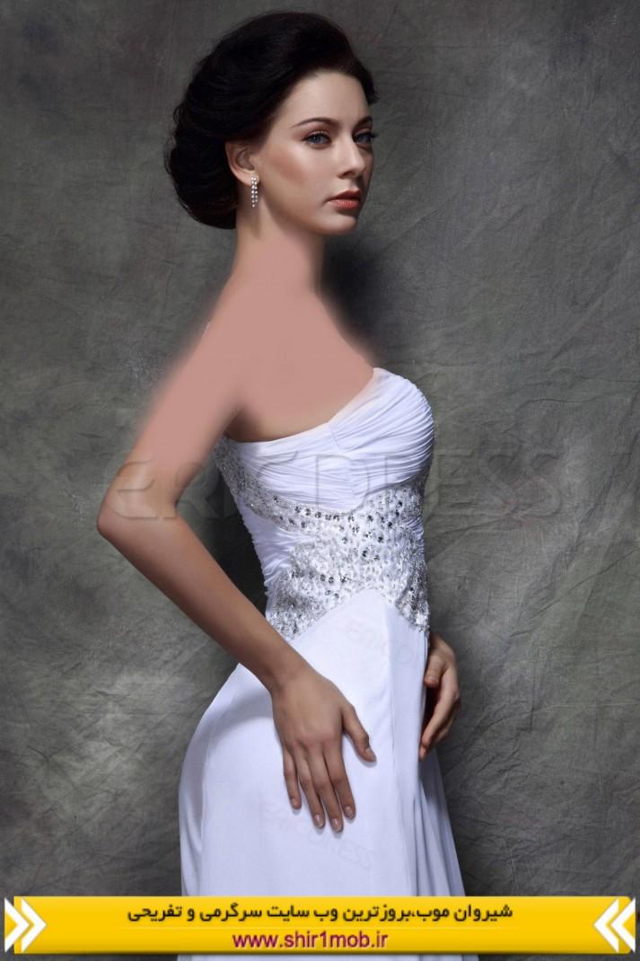 لباس شب یک شانه جدید ۲۰۱۴