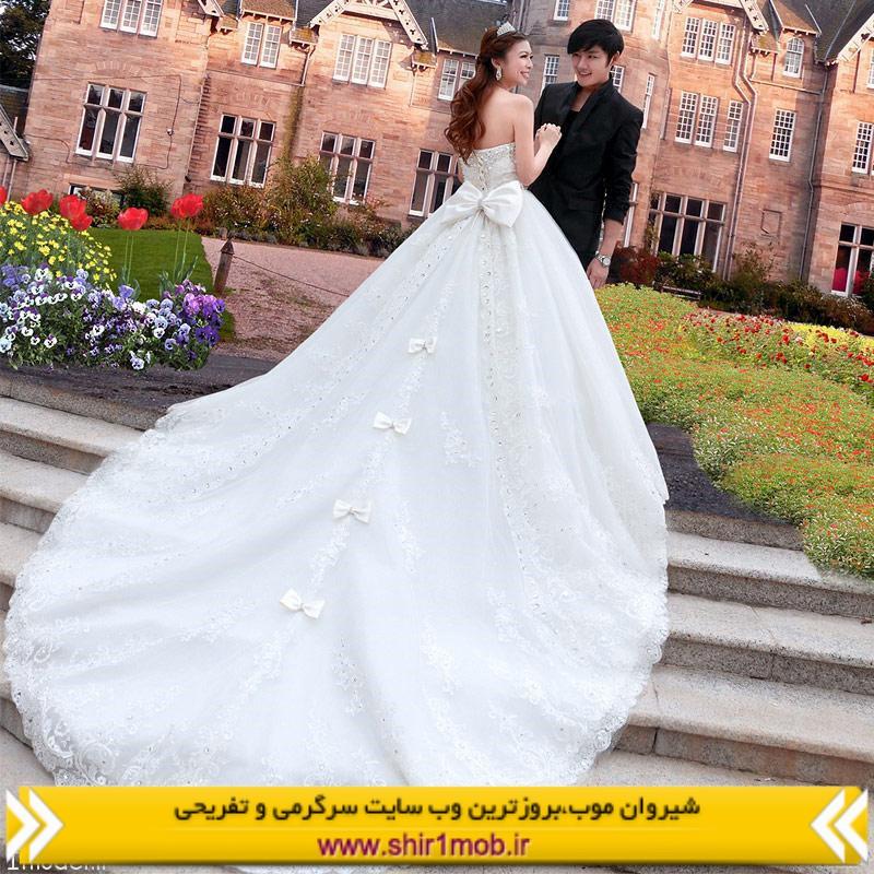 مدل لباس لوکس عروسی سال ۲۰۱۴