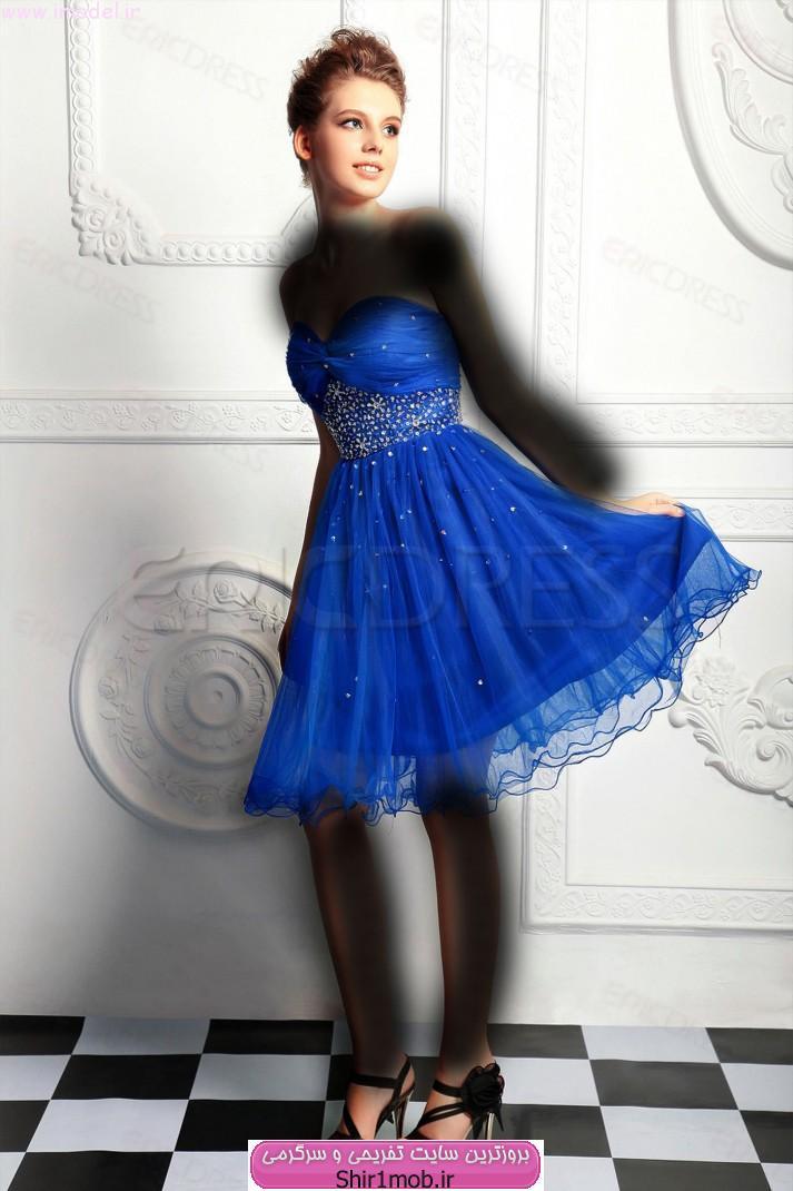 مدل جدید لباس مجلسی کوتاه و شیک سال ۲۰۱۴