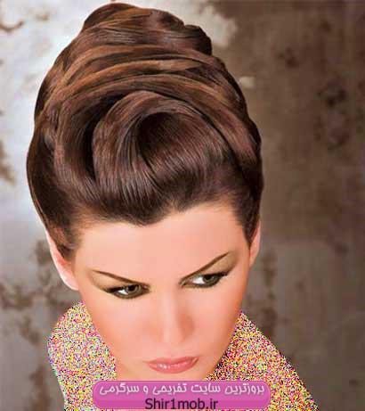 مدل شینیون تابستان ۹۲