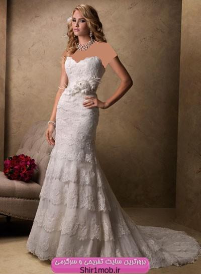 مدل جدید لباس عروس ۲۰۱۳