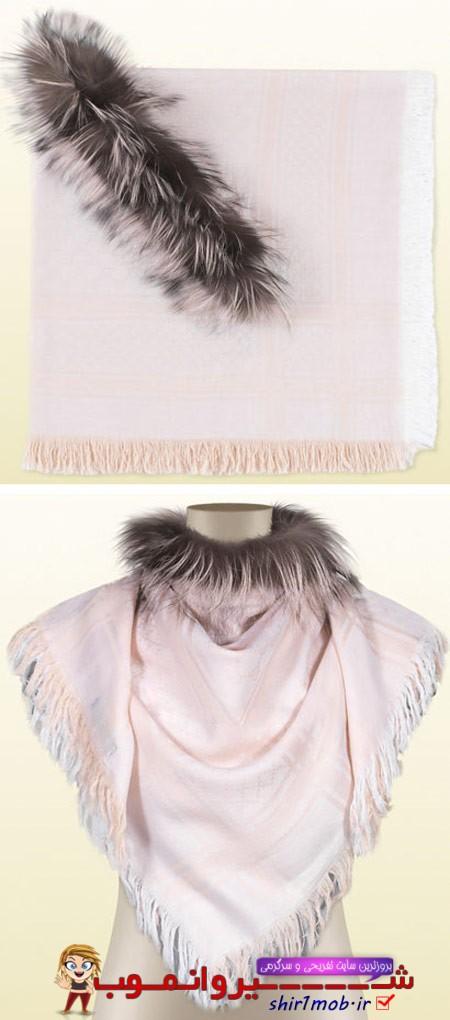 مدل های جدید و زیبا شال گردن زنانه 2014