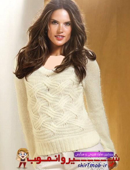 مدل های زیبا بلوز بافتنی زنانه و دخترانه