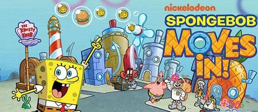 دانلود بازی باب اسفنجی نسخه کامل SpongeBob Moves In 4 اندروید
