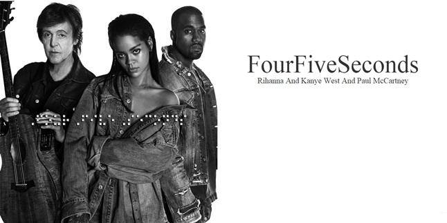 دانلود آهنگ جدید Rihanna به نام Four Five Seconds