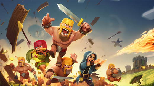 دانلود بازی نبرد قبیله ها برای اندروید Clash of Clans 6.407.8