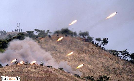 عکس تمرینات و مانور نظامی کره شمالی