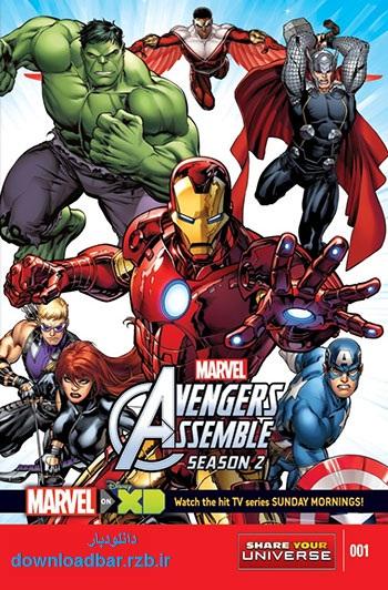 فصل دوم انیمیشن Avengers Assemble Season 2 2014+دانلود