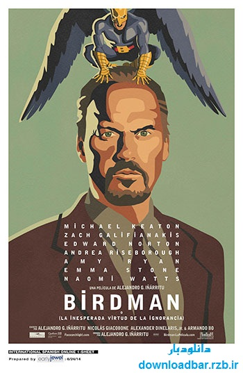 فیلم مرد پرنده ای – Birdman 2014+دانلود
