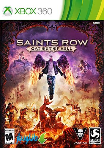 بازی Saints Row Gat out of Hell برای XBOX360+دانلود