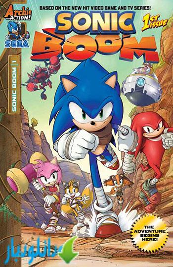 فصل اول انیمیشن Sonic Boom Season 1 2014+دانلود
