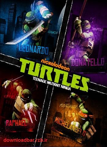 فصل دوم انیمیشن لاک پشت های نینجا – Teenage Mutant Ninja Turtles Season 02 2013