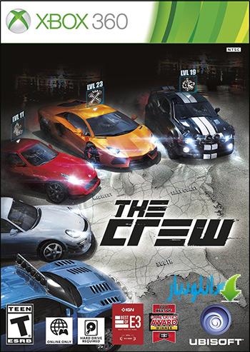 بازی The Crew برای XBOX360+دانلود