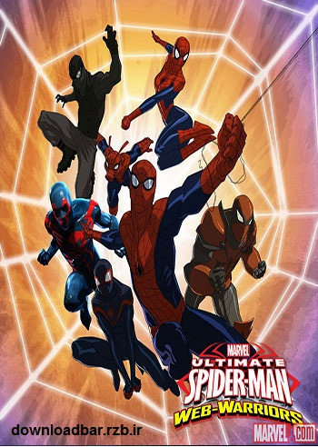 فصل سوم انیمیشن Ultimate Spider-man Web Warriors Season 3 2014+دانلود
