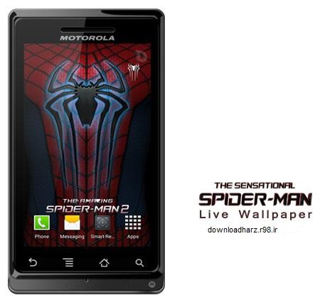 لایو والپیپر مرد عنکبوتی شگفت انگیز Amazing Spider-Man 2 Live WP 2.1