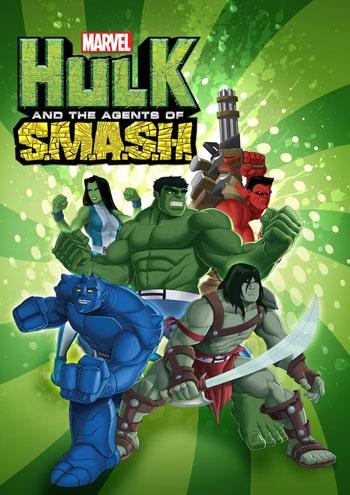 دانلود فصل اول انیمیشن Hulk and the Agents of S.M.A.S.H. 2013