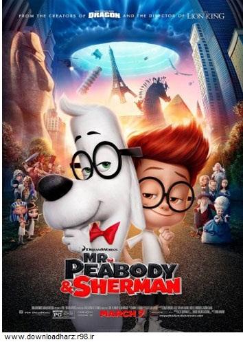 دانلود انیمیشن آقای پیبادی و شرمن Mr. Peabody & Sherman 2014