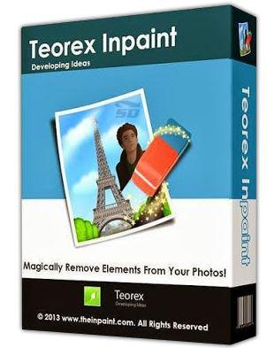 نرم افزار حذف قسمتی از عکس(Teorex Inpaint 5.6)