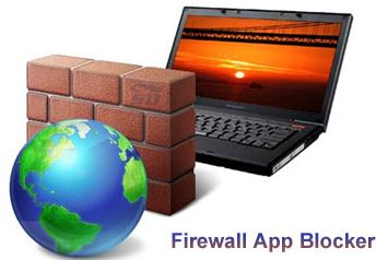 نرم افزار جلوگیری از دسترسی برنامه ها به اینترنت (Firewall App Blocker 1.3)