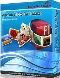 نرم افزار ساخت اسلایدشو حرفه ای (AnvSoft Photo Flash Maker Professional 5.58)