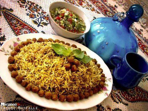 پاچه پلو شیراز