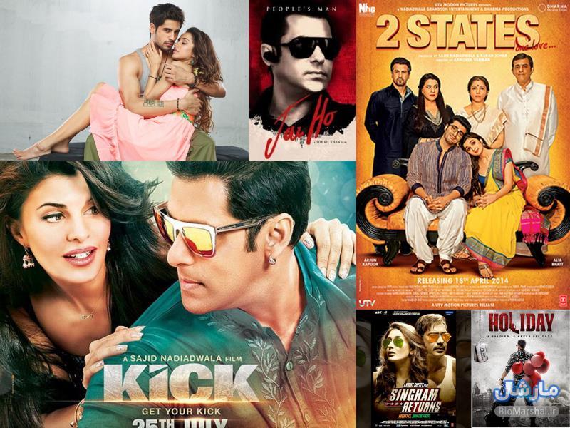 10 فیلم پرفروش بالیوود در سال 2014