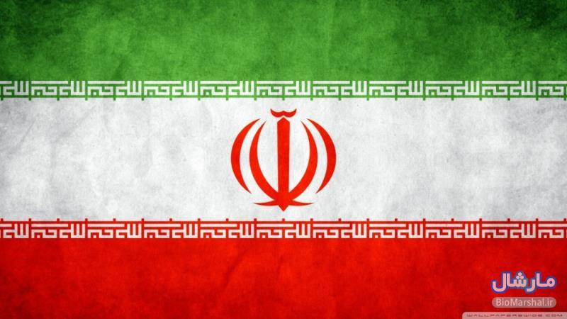 والیپر پرچم ملی جمهوری اسلامی ایران با کیفیت بالا HD