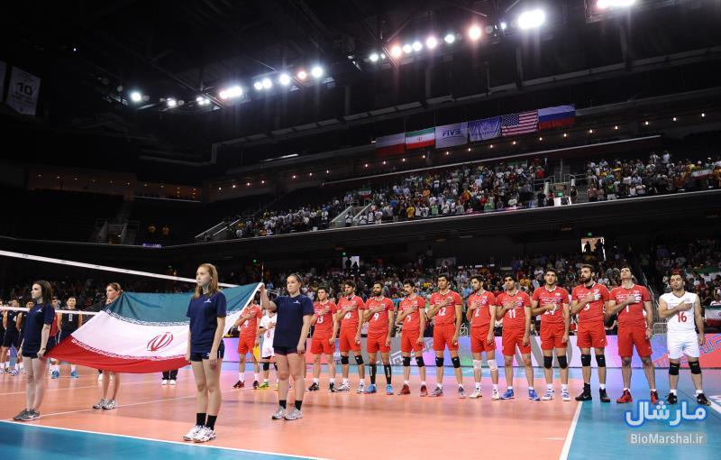 عکس های مسابقه والیبال ایران و آمریکا