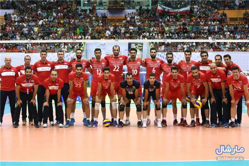 عکس های دیدار اول والیبال ایران و لهستان در ورزشگاه آزادی